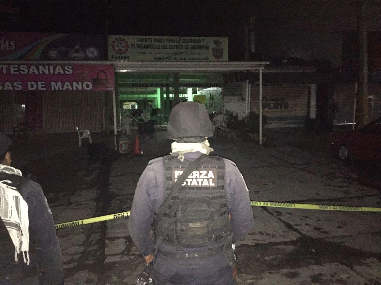 Tres muertos en presunto ataque de UPOEG a FUSDEG