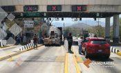 Toma FODEG casetas de la Autopista en Acapulco por presos políticos