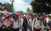 Marcha y bloquea CETEG en bulevar Vicente Guerrero de Chilpancingo