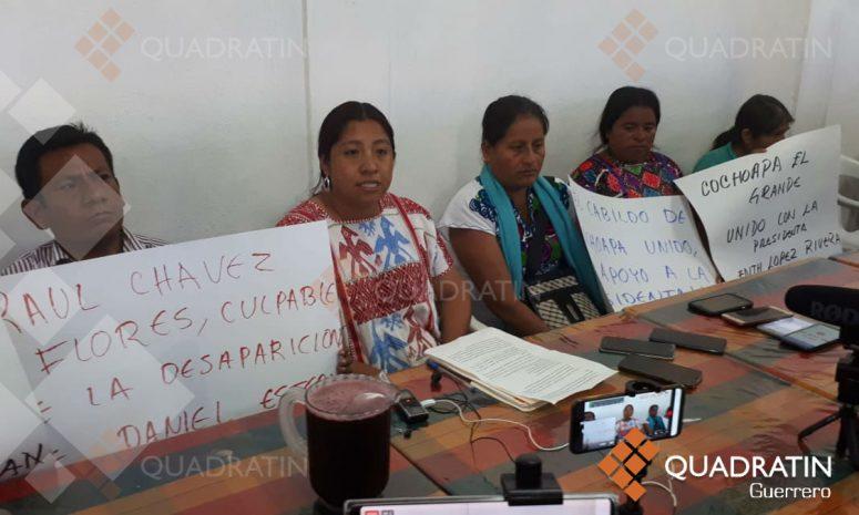 Acusa alcaldesa de Cochoapa a suplente de amenazarla