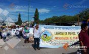 Marchan en Chilapa a 2 años del asesinato de Ranferi Hernández