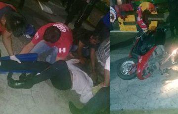 Circula en redes video de fuerte accidente de moto en Ometepec 9:40 07 Nov 2019 - Quadratin Guerrero