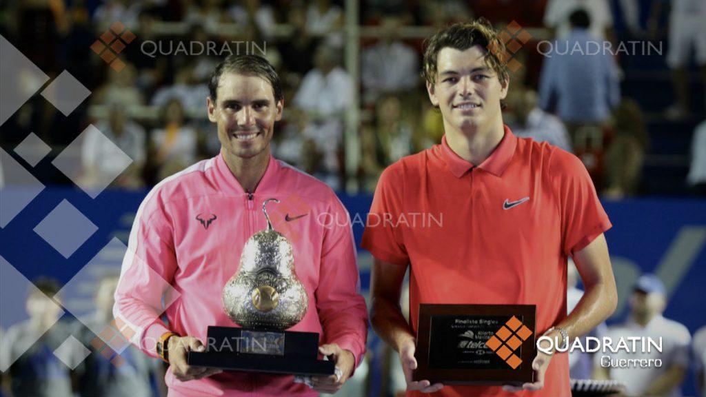 Termina participación de María José Portillo en primera fase de Abierto Mexicano Telcel de Tenis