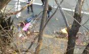 Acribillan a 4 hombres sobre la carretera en Taxco