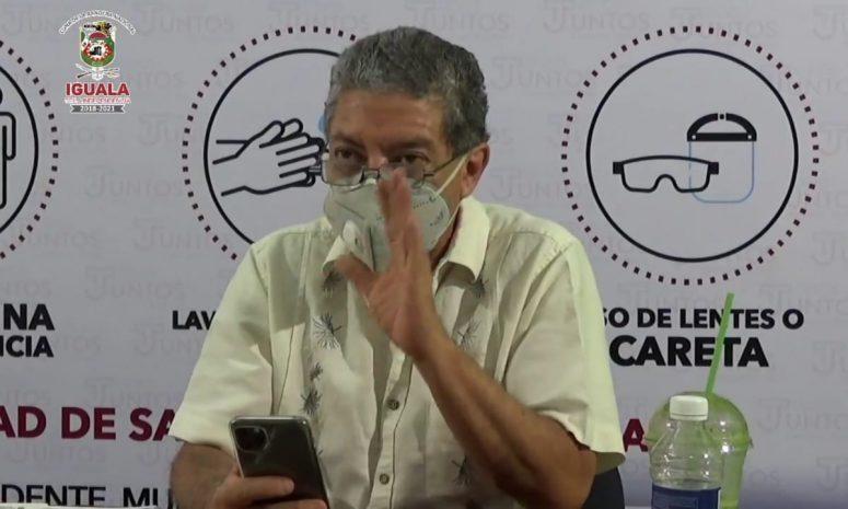 Pide alcalde de Iguala no bajar la guardia ante la pandemia