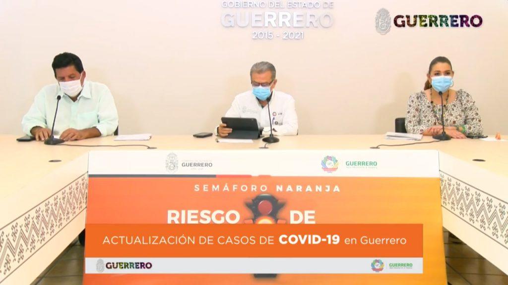 Aumentan 2.4% casos nuevos de Covid-19 en Guerrero