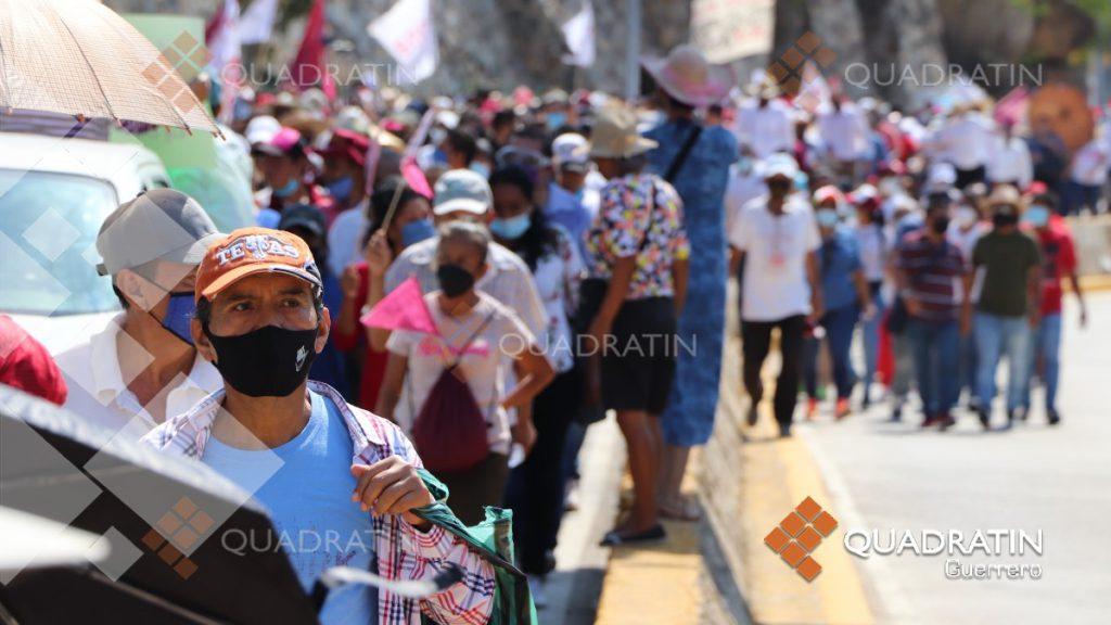 Félix Salgado convoca a una marcha el Domingo de Pascua, en Acapulco